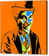 Charlie Chaplin 20130212p28 Acrylic Print