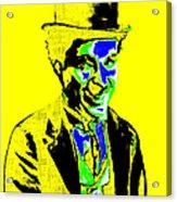 Charlie Chaplin 20130212p60 Acrylic Print by Wingsdomain Art and Photography