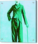 Charlie Chaplin The Tramp 20130216m150 Acrylic Print