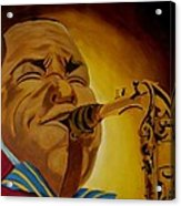 Charlie Parker-legends Of Jazz Acrylic Print