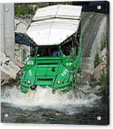 Charlie River Splash Down Acrylic Print