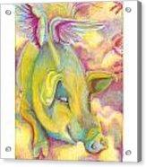 Charlie's Angel Acrylic Print