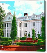Charlotte Estate Charlotte Nc Acrylic Print by William Dey