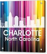 Charlotte Nc 2 Acrylic Print by Angelina Vick
