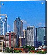Charlotte Panorama Acrylic Print