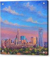 Charlotte Skies Acrylic Print by Jeff Pittman