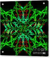 Charlotte's New Freakin' Awesome Neon Web Acrylic Print