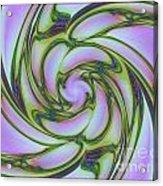 Charlotte's Crazy Spring Web Acrylic Print
