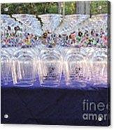 Charmed Glasses Acrylic Print