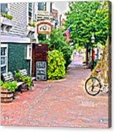 Charming Nantucket Acrylic Print