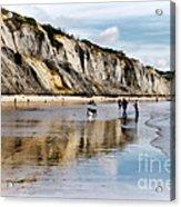 Charmouth Beach Acrylic Print