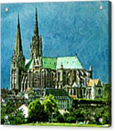 Chartres Cathedral Acrylic Print
