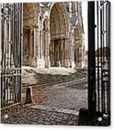 Chartres Cathedral North Transept Acrylic Print