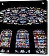 Chartres Acrylic Print