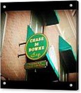 Chase M Downe Esq. Acrylic Print