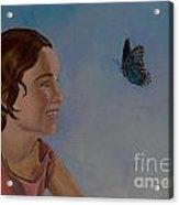 Chasing Butterflies Acrylic Print