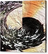 Chasing The Dragon's Tail Acrylic Print
