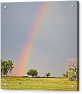 Chasing The Pot Of Gold  Acrylic Print