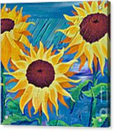 Chasing The Sun Acrylic Print