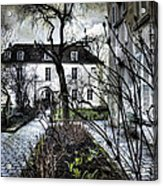 Chat Noir Gallery Paris France Acrylic Print
