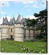 Chateau Chaumont From The Garden  Acrylic Print