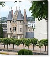 Chateau D'angers - Chatelet View Acrylic Print
