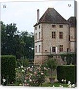 Chateau De Cormatin - Burgundy Acrylic Print