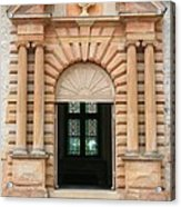 Chateau De Cormatin Entrance Acrylic Print