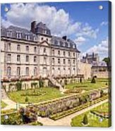 Chateau De L Hermine Vannes Brittany Acrylic Print by Colin and Linda McKie