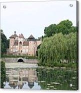 Chateau De Sercy - Burgundy Acrylic Print