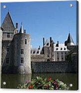 Chateau De Sully-sur-loire View Acrylic Print
