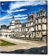 Chateau Fontainebleau - France Acrylic Print