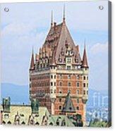 Chateau Frontenac Quebec City Canada Acrylic Print