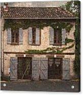 Chateau No 1 Rue Moulins France Acrylic Print