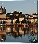 Chateau Saumur Acrylic Print