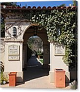 Chateau St. Jean Winery 5d22197 Acrylic Print