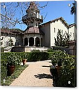 Chateau St. Jean Winery 5d22201 Acrylic Print by Wingsdomain Art and Photography