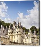 Chateau Usse Loire Valley France Acrylic Print by Colin and Linda McKie