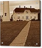 Chatham Lighthouse Acrylic Print by Skip Willits