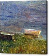 Chatham Rowboats Acrylic Print