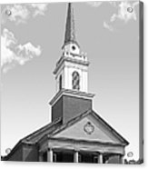 Chatham University Campbell Memorial Chapel Acrylic Print by University Icons