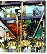 Chattanooga Carousel Acrylic Print