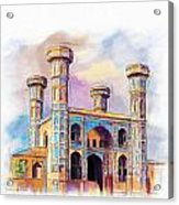 Chauburji Lahore Acrylic Print
