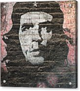 Che Guevara Wall Art In China Acrylic Print