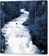 Cheakamus Glacial River - Whistler Acrylic Print