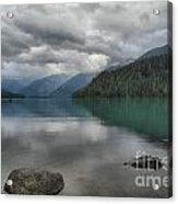 Cheakamus Lake Reflections Acrylic Print
