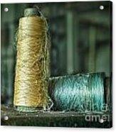 Cheap Threads Acrylic Print