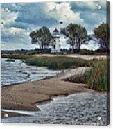 Cheboygan Crib Lighthouse #18 Acrylic Print