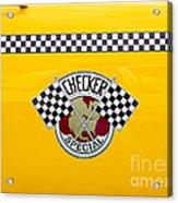Checker Special Acrylic Print
