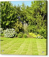 Checkerboard Lawn Acrylic Print